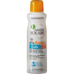 Ambre Solaire Kids Very High Protection Rapido Spray-SPF50 £3.99 at Argos Gratisfaction UK Flash Bargains