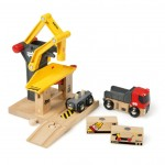BRIO Kids Freight Goods Station Wooden Toy WAS £21.99 NOW £12.90 delivered at Amazon - Gratisfaction UK
