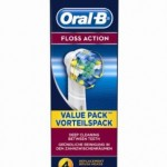 Braun Oral-B EB25-4 Floss Action ReplacementToothbrush Heads 4-Pack £10 Delivered At Amazon - Gratisfaction UK