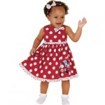 Disney Minnie Mouse Girls' Red Frill Dress (6-9 Months) HALF PRICE £7.49 at Argos - Gratisfaction UK