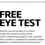 Free Eye Test at Specsavers valid until 31st August 2014 - Gratisfaction UK