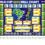 Free FIFA World Cup 2014 Wall Chart from Banbury Litho - Gratisfaction UK