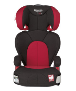 Graco Logico L Highback Booster Car Seat Chilli WAS £89.99 NOW £39.99 at Mothercare Gratisfaction UK Flash Bargains