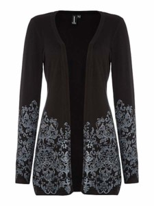Izabel London Embellished Baroque Print Cardigan WAS £30 NOW £15 at House of Fraser Gratisfaction UK Flash Bargains
