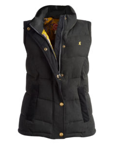 Joules Higham Womens Gilet Cotton WAS £69.95 NOW £29.95 at Joules Clothing Outlet Ebay