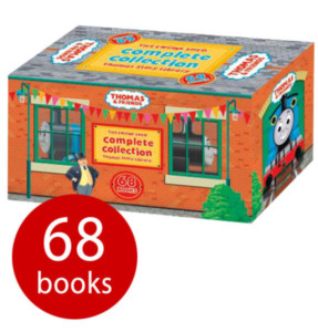 KIDS The Complete Thomas Library - 68 Books £18 delivered at The Book People use codes FLOWERS and AFLILAC