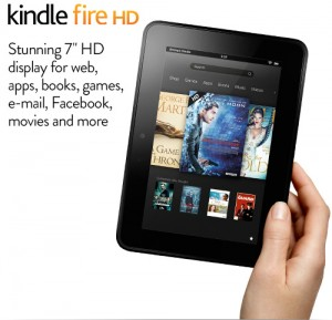 Kindle Fire HD Tablet [2012] 16GB £99 32GB £119 Delivered At Amazon Gratisfaction UK Flash Bargains