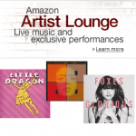 Loads of Free to download MP3 tracks from Amazon Artist Lounge