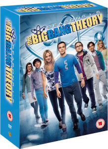 The Big Bang Theory - Season 1-6 DVD Boxset NOW £19.99 delivered at Zavvi Gratisfaction UK Flash Bargains