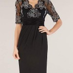 BARGAIN Alexon Lace Detail Jersey Dress WAS £110 NOW £29 at House of Fraser - Gratisfaction UK