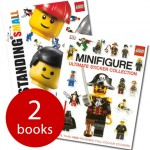 LEGO Standing Small Set – 2 Books (with over 1000 re-usable stickers) £3.99 Delivered at The Book People - Gratisfaction UK