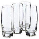 BARGAIN 70% off Sainsburys Tumblers & Hiball Glasses were £8 NOW £2.40 for a set of 4 - Gratisfaction UK