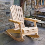 BARGAIN Bowland Outdoor Garden Patio Wooden Adirondack Rocker Rocking Chair Furniture £59.99 (free click and Collect) at eBay - Gratisfaction UK