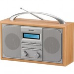 BARGAIN Bush Arden Wooden DAB Radio in Silver was £39.99 NOW £21.99 at Argos - Gratisfaction UK