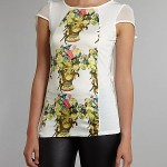 BARGAIN Pussycat Satin Panel Jamaican Print Top was £18, then £7 NOW £4.90 at House of Fraser - Gratisfaction UK