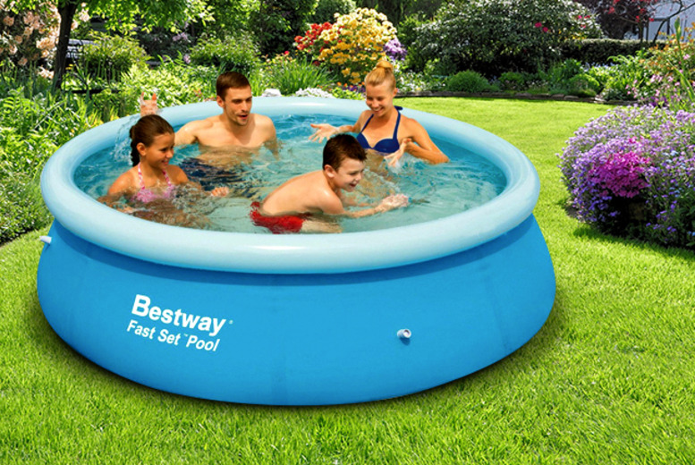 BARGAIN Quick set up pool was £39 99 now £19 99 at Argos