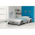 BARGAIN Silver Racing Car Bed Frame was £374.99 now £78.94 delivered at Argos - Gratisfaction UK