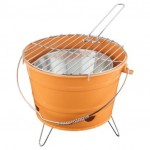 BARGAIN Tesco Small Charcoal Bucket BBQ (choice of colours) £2.50 when added to basket at Tesco Direct - Gratisfaction UK