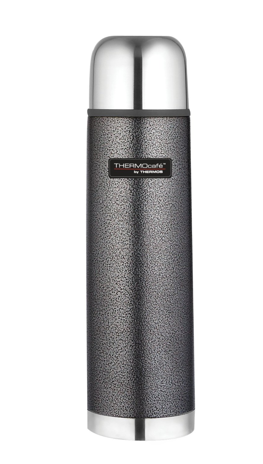 bargain thermos thermocafe 1 litre stainless steel hammertone flask 8 at amazon gratisfaction uk. Black Bedroom Furniture Sets. Home Design Ideas