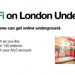 FREE Free WiFi on London Underground for everyone on Three Network - Gratisfaction UK