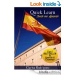 FREE Quick Learn. Teach Me Spanish Kindle Book - Gratisfaction UK