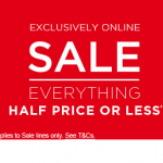 SALE Everything on sale half price or less for 48 hours only at Dorophy Perkins with free delivery using code DPDELTREAT - Gratisfaction UK