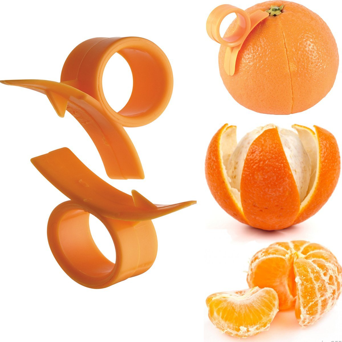 Bargain 2 X Orange Lemon Fruit Skin Remover Now 163 0 38 At
