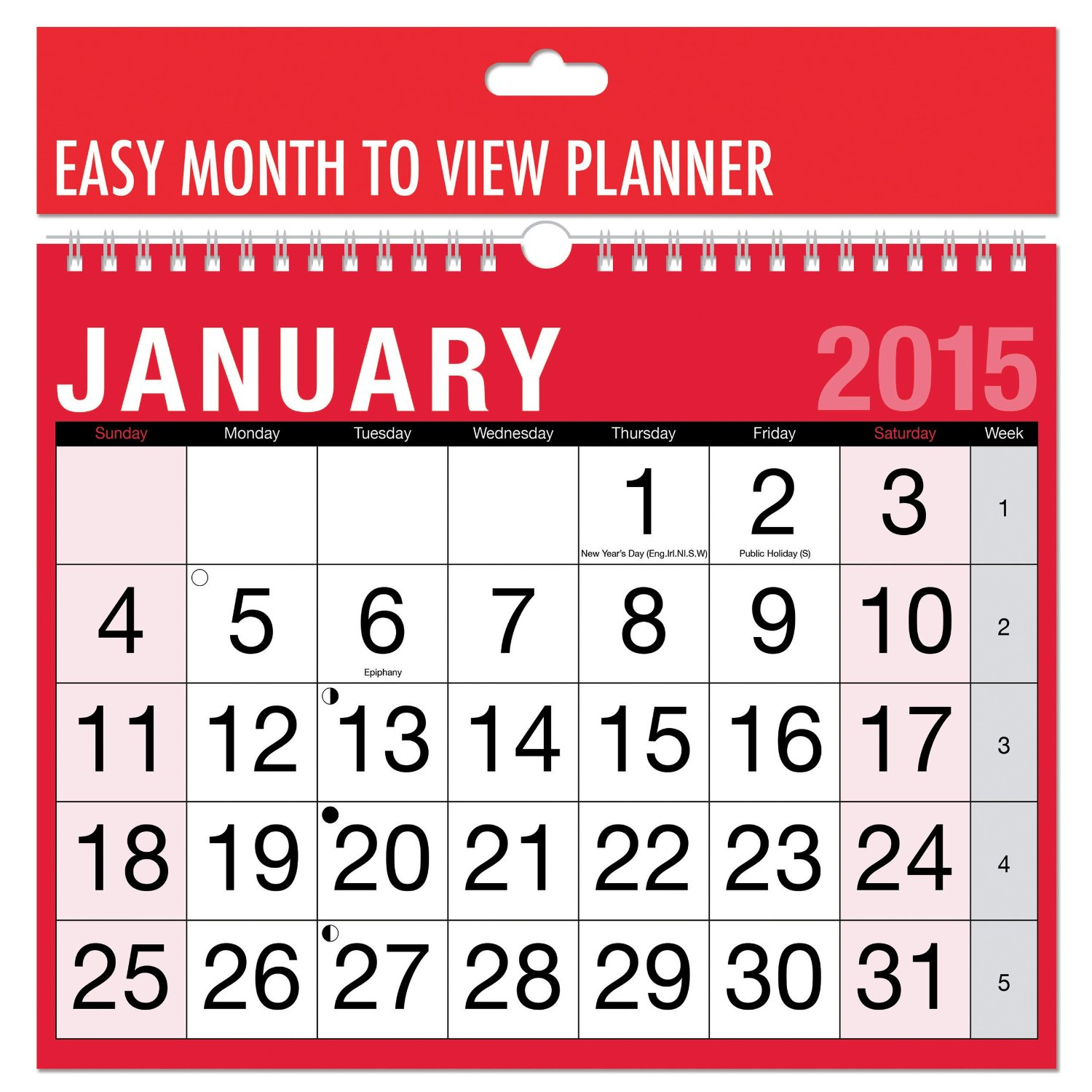 sneakers for cheap 5c5a4 f30fe BARGAIN 2015 Calendar View Planner £1 delivered at Amazon .