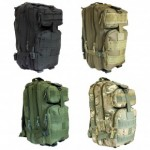 BARGAIN 30 Litre MOLLE Army Style Tactical Assault Backpack WAS £29.99 NOW £12.99 At Tooltime - Gratisfaction UK