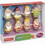 BARGAIN Fisher-Price Little People Disney Snow White and Seven Dwarfs Gift Set was £21.99 NOW £14.30 at Amazon - Gratisfaction UK