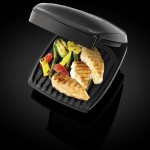 BARGAIN George Foreman 18471 Black 4-Portion Family Grill £20 at Amazon - Gratisfaction UK