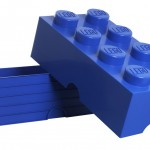 BARGAIN Lego Storage Brick 8 in Blue £13.99 at Amazon (Choose 'Other Sellers On Amazon' to get this price) - Gratisfaction UK