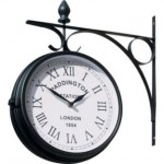 BARGAIN Paddington Outdoor Station Clock was £14.99 NOW £8.99 at Argos