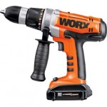 bargain worx wx368 3 lithium ion hammer drill with 2. Black Bedroom Furniture Sets. Home Design Ideas