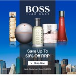 FLASH SALE Up To 60% Off Hugo Boss Fragrances At AllBeauty (Ends 25th August) - Gratisfaction UK