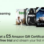 FREE £5 Amazon Voucher with free 30 day trial of Prime + Unlimited Movie and TV Streaming at Amazon