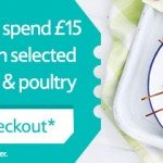 VOUCHER CODE £3 off when you spend £15 on meat, fish and poultry at Tesco - Gratisfaction UK