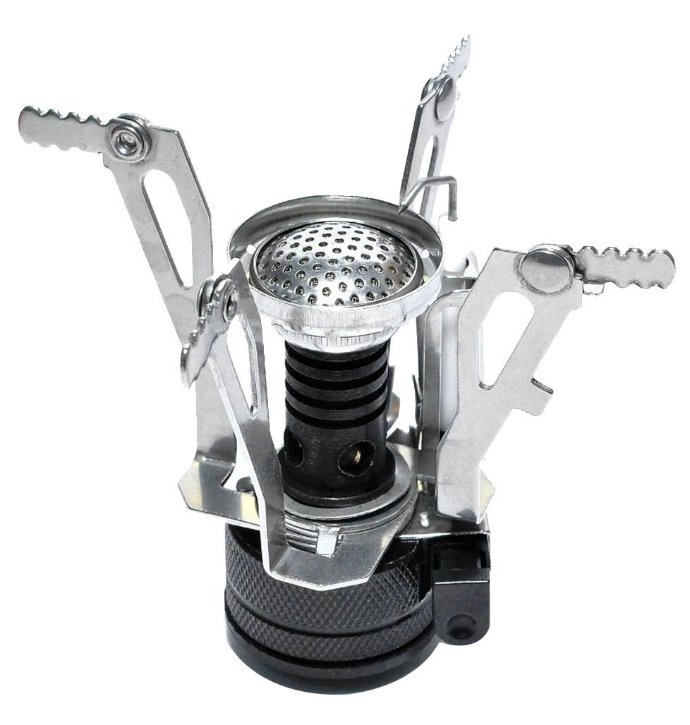 Bargain Ultralight Backpacking Canister Camp Stove With