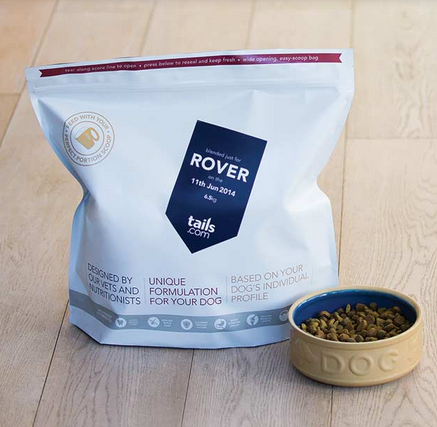 Tails Dog Food Free Voucher Code