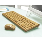BARGAIN Artis Handmade Bamboo Wooden PC Wireless Keyboard and Mouse JUST £39.99 At Amazon - Gratisfaction UK