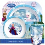 Bargain Spearmark 3 Piece Frozen Bowl And Plate Set Just 163
