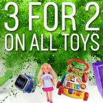 BARGAIN 3 For 2 On All Toys At Argos