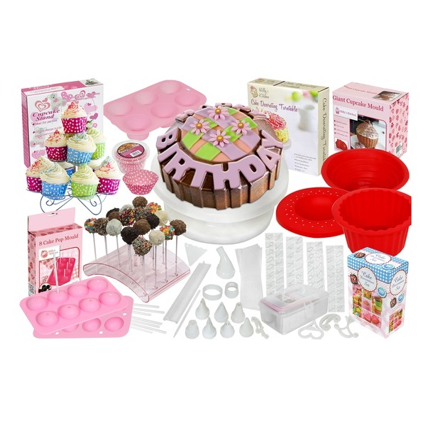 BARGAIN Cake Baking and Decorating Sets SAVE 80% FROM JUST ...