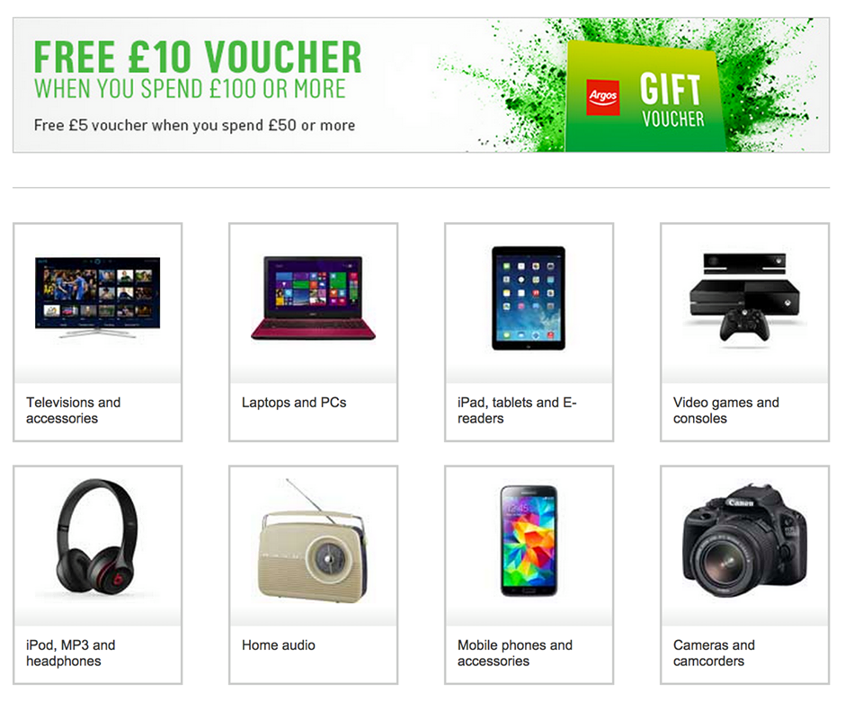 Free Argos discount codes and deals at VoucherCodes for December Get super savings with one of our 29 offers now and cut the cost of your basket!