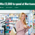 Win A FREE £3000 Spend At Morrisons - Gratisfaction UK