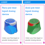FREE Ariel And Fairy Dosing Devices - Gratisfaction UK