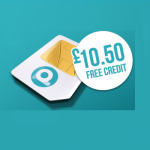 FREE The Peoples Operator Sim Card With £10.50 Free Credit