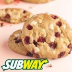 FREE Subway Cookies - Gratisfaction UK