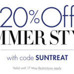 Get 20% off all Summer Style Fashion using code SUNTREAT at Amazon