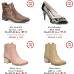 SALE Get up to 60% Off Womens Footwear in the Clarks Sale - Gratisfaction UK